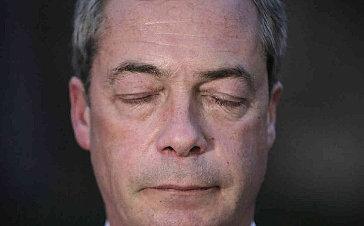 are furious that Farage has not been honored for 'Services to Trump's Asshole' after putting in so much effort - 24/7  #Brexit
