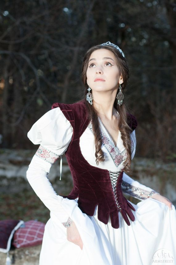 This vest is a very special and elegant part of any period or fantasy costume. It provides unusual and breathtaking opportunity to unite authentic look