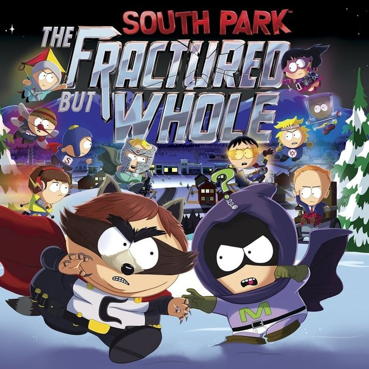 South Park: The Fractured but Whole is an upcoming role-playing video game  developed by Ubisoft San Francisco, in collaboration with South Park  Digital Studios and published by Ubisoft for the PlayStation 4, Xbox One  and Microsoft Windows. The game is based on the American adult animated  television series South Park, and the plot follows after South Park: The  Stick of Truth.  South Park: The Fractured But Whole will feature twelve superhero classes  of which are revealed to be the…