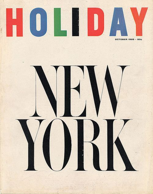 holiday magazine.