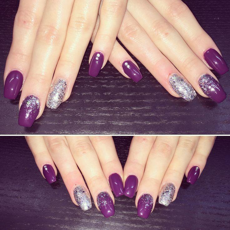 Love that dark purple!