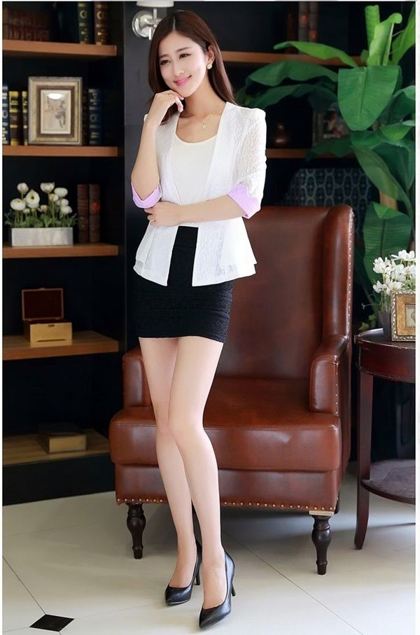 Find short skirt office girls Stock Images in HD and millions of other royalty-free stock photos, illustrations, and vectors in the Shutterstock collection. Thousands of new, .