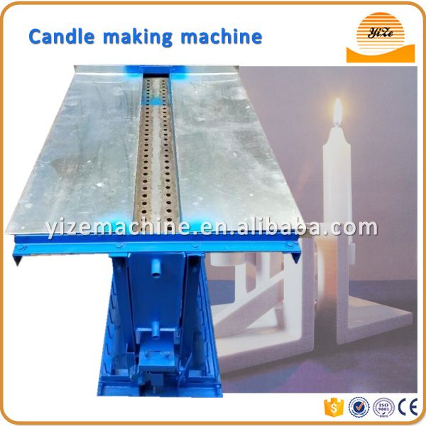 Price of Semi automatic small candle making machine on sale in China