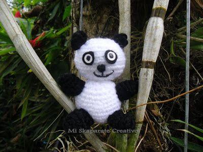 Amigurumi osito panda
