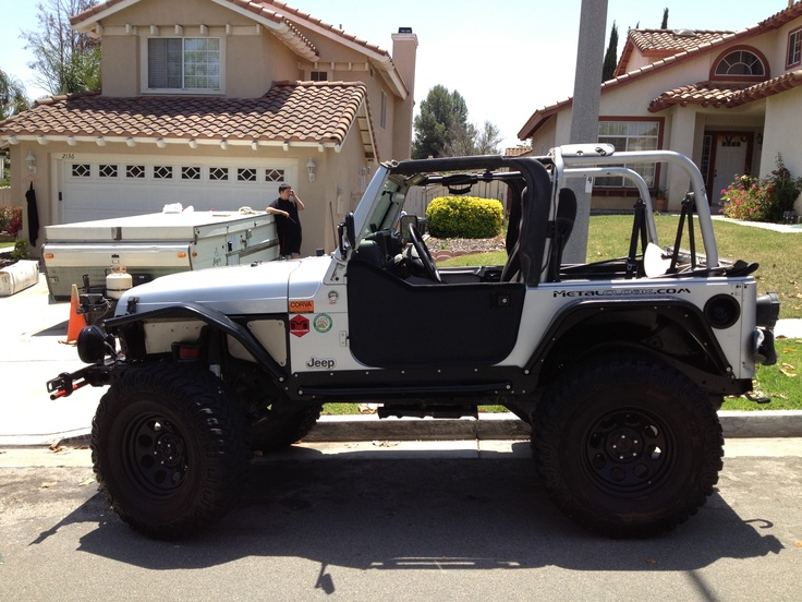 Metalcloak Armor With 35 S And 3 5 Quot Lift Jeeps Jeep