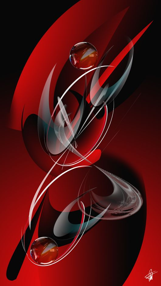 red, abstract, imagination, art, mystical, awesome, digital art, imaginationreve…