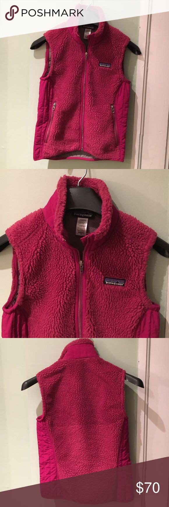 Sale** Patagonia Retro-X vest. Size XS. Magenta. Women's Patagonia Retro-X vest in Magenta. Size XS. In very good condition! Two zipper closure pockets. Let me know if you have any questions! Patagonia Jackets & Coats Vests
