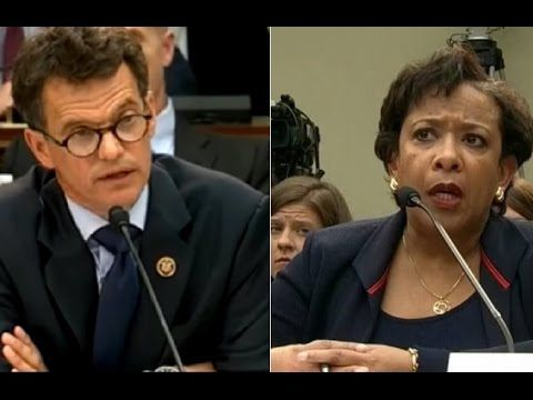 """""""You Refused to Answer 74 Times"""" Loretta Lynch Snaps Over Hillary Clinton's Emails - YouTube"""