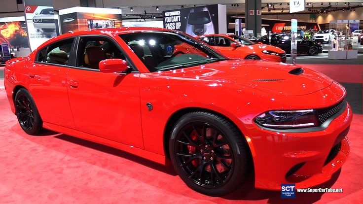 2016 Dodge Charger SRT Hellcat - Exterior and Interior Walkaround - 2015...