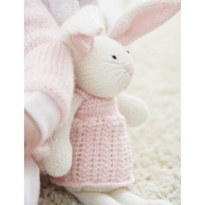 Zoe Bunny is the perfect cozy bedtime companion. Zoe Bunny - Patterns | Yarnspirations