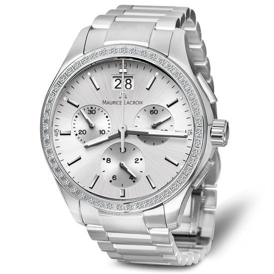 Zegarek Maurice Lacroix, 12110 PLN www.YES.pl/54701-zegarek-maurice-lacroix-TC34254-S0S00-DIW000-000 #jewellery #Watches #BizuteriaYES #watch #silver #elegant #classy #style #buy #Poland