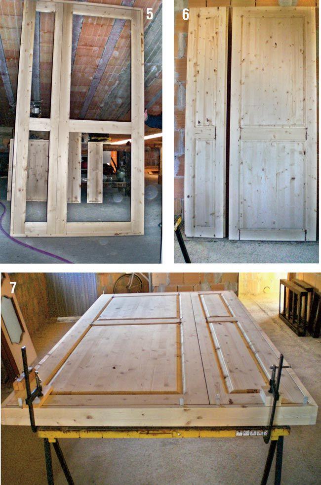 Oltre 25 fantastiche idee su lavorare il legno su for Telaio porta