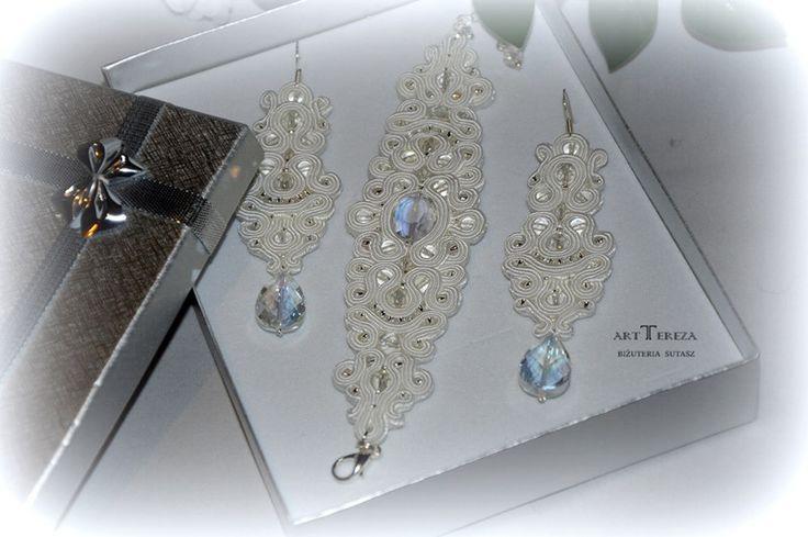 biżuteria ślubna sutasz   w ART TEREZA na DaWanda.com