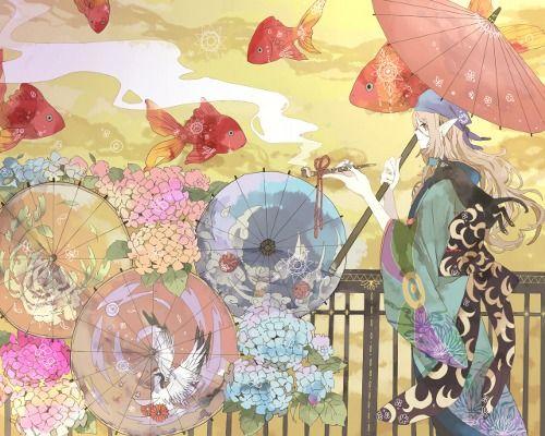 Pixiv - Mononoke anime wallpaper ...