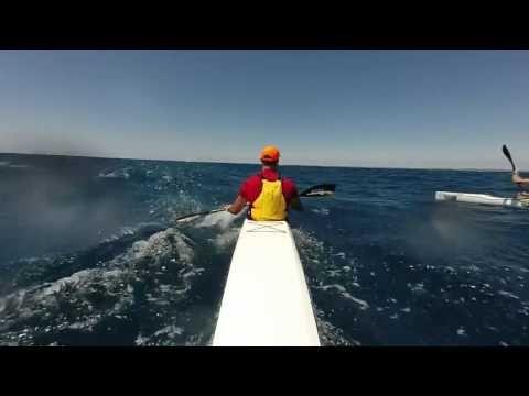 Downwind Surfski Paddling - The Doctor 29/11/14