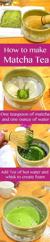 How to make matcha tea. @seasonlyblog
