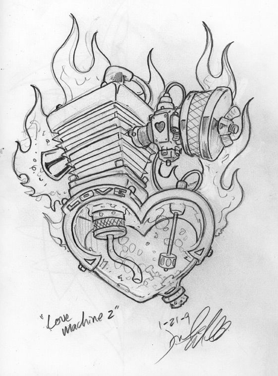 hamb hotrod art tidwell love machine