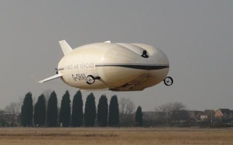Hybrid Air Vehicles-- So yesterday I get obsessed with airships, and today I see in the paper they are making a come back. synchronicity, its weird