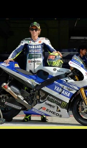 Valentino Rossi at sepang tests 2014 Love his helmet
