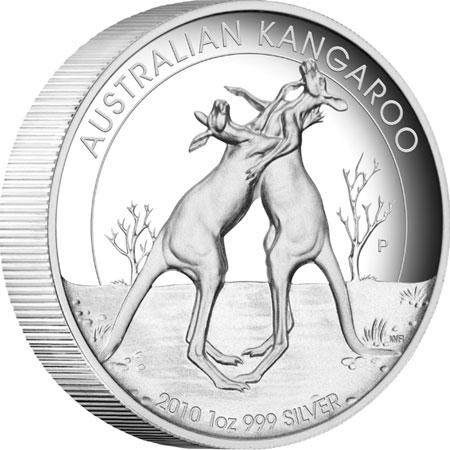 Australian Kangaroo High Relief 2010