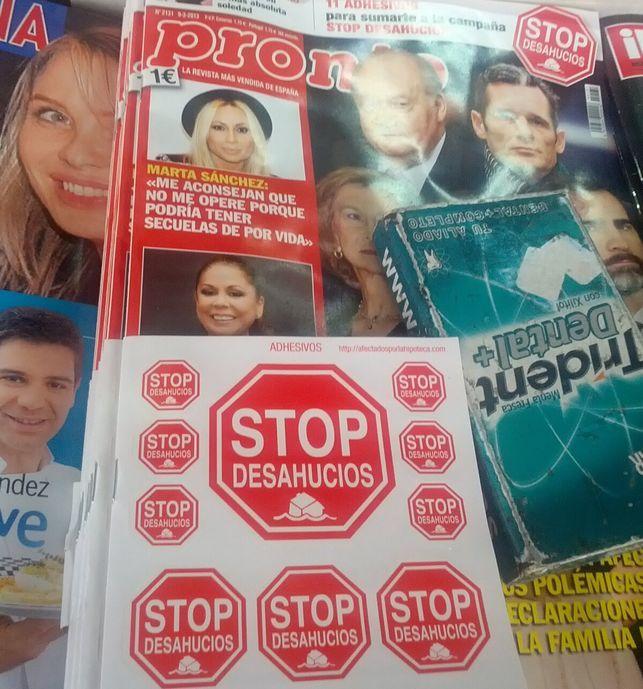 El 8m conquista las revistas del corazón: esta es la nueva portada de Pronto