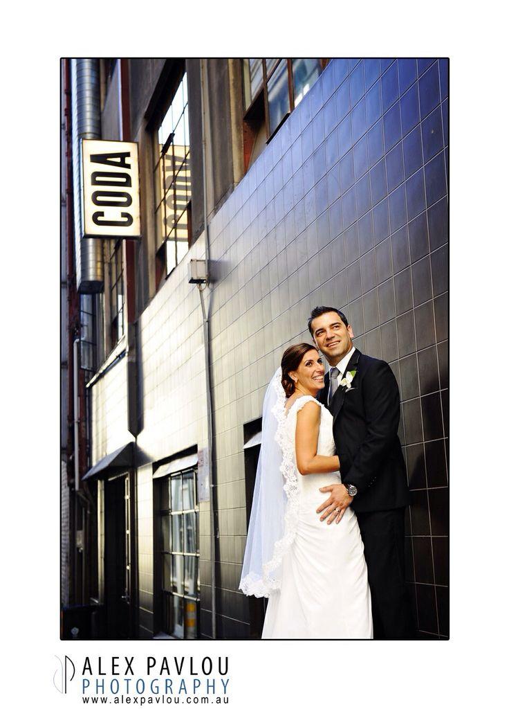 Melbourne lane ways - Melbourne wedding photography by Con Tsioukis of Alex Pavlou Photography  www.alexpavlou.com