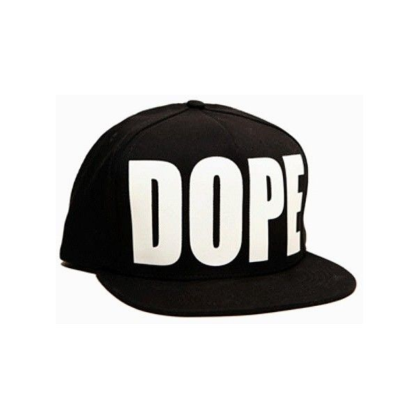 Cap - DOPE found on Polyvore