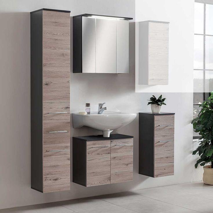 Fesselnd Badezimmer Kombination In Eiche Grau Anthrazit (4 Teilig) Jetzt Bestellen  Unter: Https
