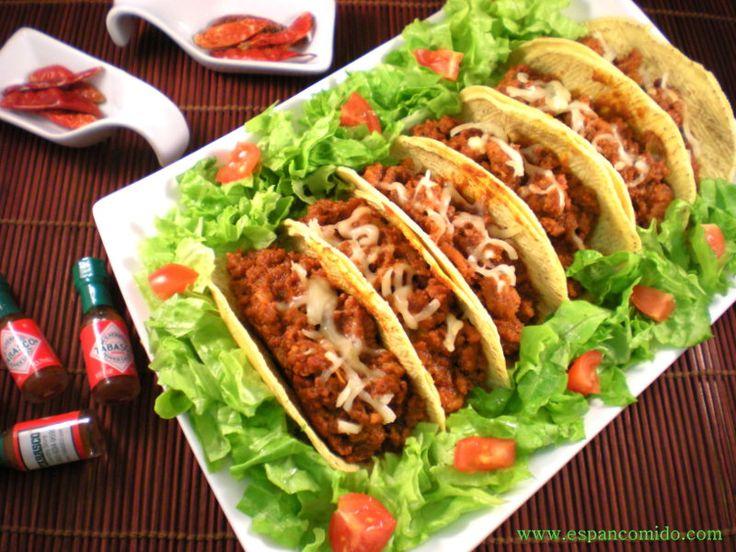 17 best images about bocadillos y sandwiches on pinterest - Tacos mexicanos de pollo ...