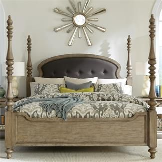 Riverside 21574 Corinne Poster Bed Discount Furniture At Hickory Park  Furniture Galleries