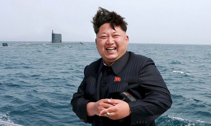 North Korean leader Kim Jong-un watching the test-fire of a strategic submarine underwater ballistic missile. China joined other countries in condemning North Korea's 2013 test – conducted in defiance of international sanctions – leading to a deterioration in traditionally warm ties between Pyongyang and Beijing. Hydrogen bombs are capable of producing a far more powerful blast than basic atom bombs. Kim appears to have caught the world off-guard yet again.