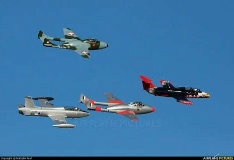 SAAF jets of the past...