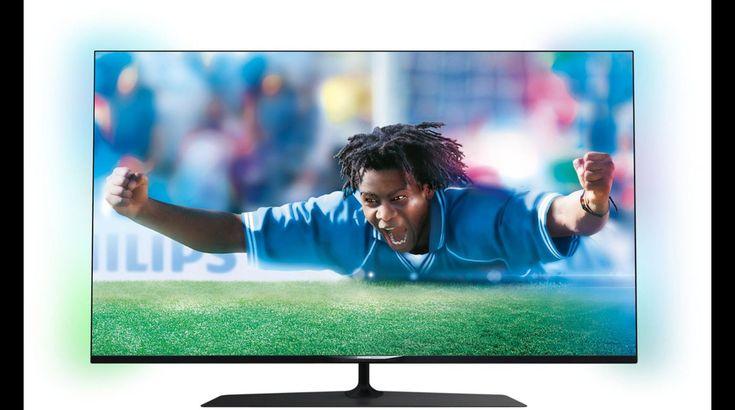 """TV Led Boulanger, achat TV écran plat LED UHD 4K 48-49"""" PHILIPS 49PUS7809 4K 3D 600 Hz PMR smart TV prix promo Boulanger 990.00 € TTC au lieu de 1 390 €."""
