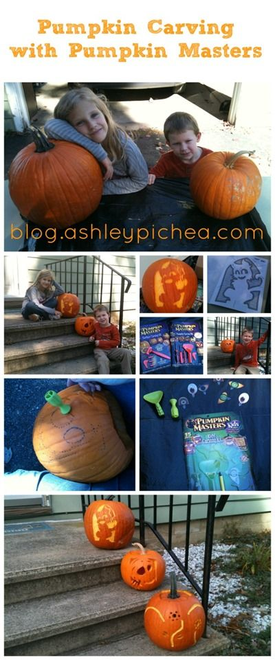 Pumpkin Carving with Pumpkin Masters | blog.ashleypichea.com