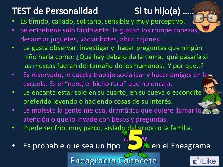 Personalidad Tipo 5 del Eneagrama