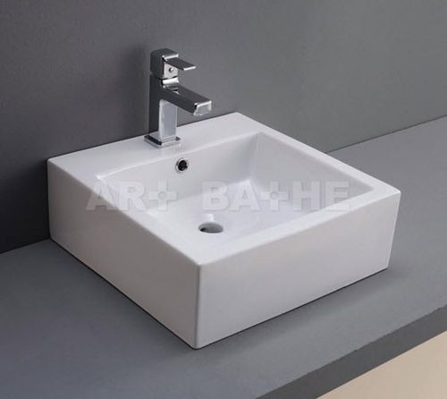 53 best lavabos de porcelana rectangular images on for Lavabos cuadrados sobre encimera