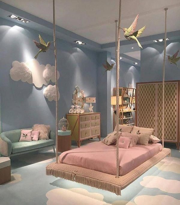 Girl Bedroom Design To Bring Fantasy To Girls Room You Need