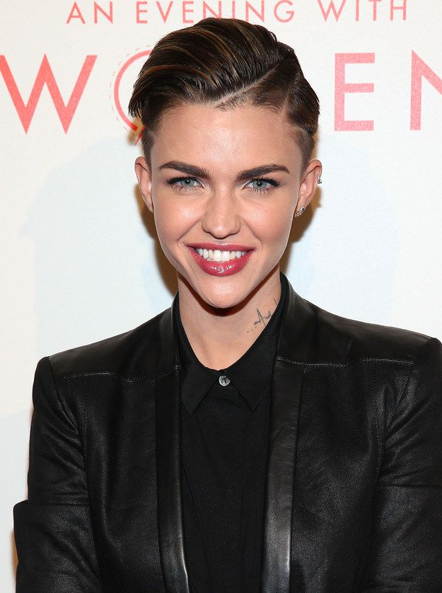 """I got Ruby's sleek, shaved look!: """"You don't try hard to impress anyone, but you always manage to. You're cooler than cool. Yes, you're ice cold."""" Which Iconic Ruby Rose Hairstyle Should You Try?"""