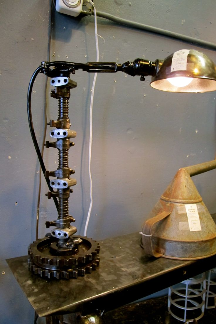 Cool industrial lamp