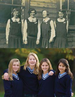 School Uniforms 1920 Through Uniforms One Parent S