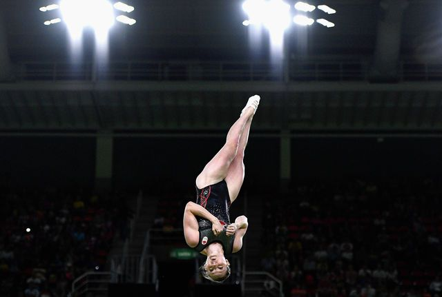 Canada's Rosannagh MacLennan secured back-to-back Olympic trampoline golds…