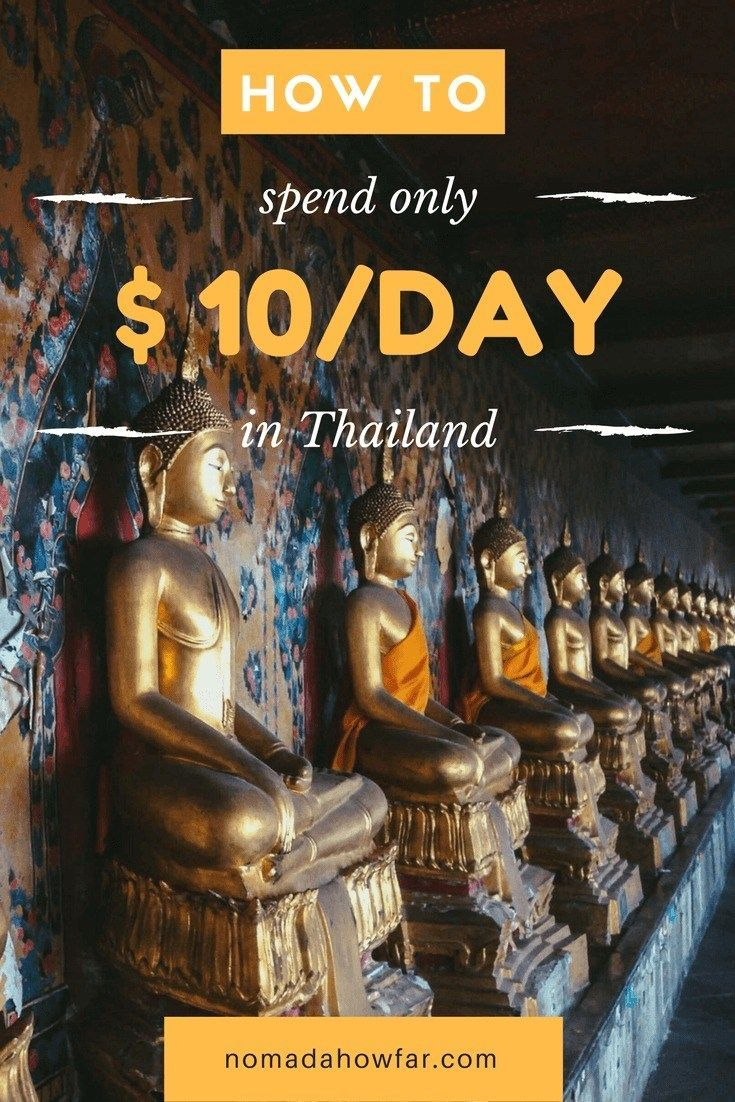 Thailand is a super backpacker-friendly country! Our tips will help you to travel cheap in Thailand and maybe even spend less than $10/day.