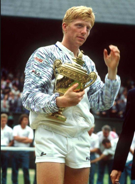 Wow young Boris Becker is hot! #Tennis | Yay Sports ...
