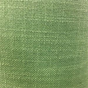 This is a solid green linen look drapery fabric, suitable for any decor in the home or office. Perfect for pillows, bedding or drapes.v164TAF