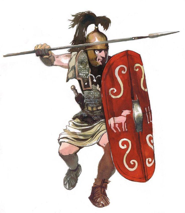 Caesarian legionary, 1st century BC.
