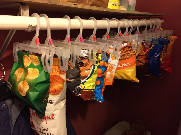 Open Pantry Organization Food Storage
