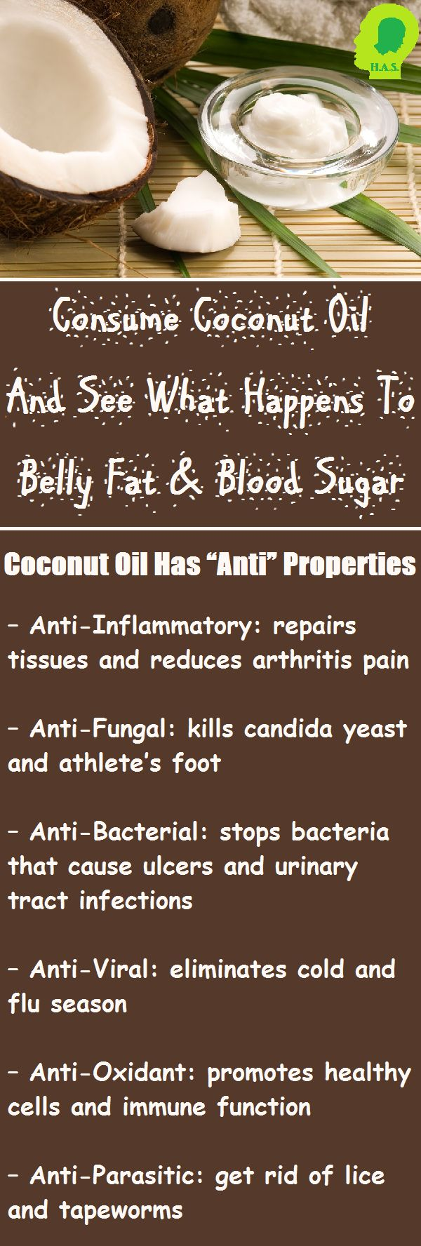 "Coconut oil is considered a ""superfood"", meaning it's a nutrient rich food that's extremely beneficial to our health."