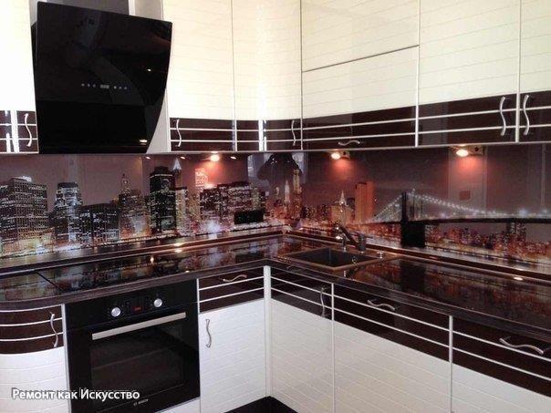Небоскребы на кухне. Как вам такой вариант?