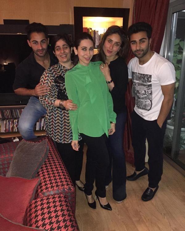 Grand Family Pic! Kapoors Ring in Randhir Kapoor's 69th Birthday!   PINKVILLA