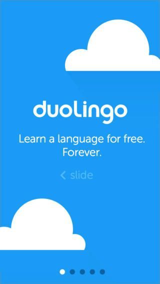 duolingo app - learn languages for free. check it out.